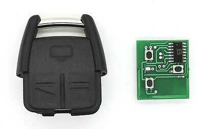 FOR VAUXHALL OPEL Astra Omega Zafira Signum Vectra C 3 Button REMOTE KEY 433MHz