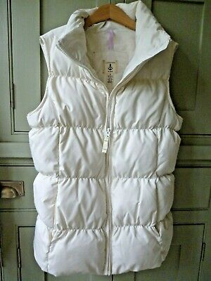 Lands' End girls age 10-12 feather/down padded gilet bodywarmer excellent cond