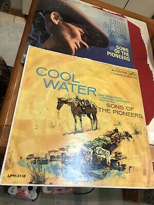2 Vintage Sons Of The Pioneers Cool Water & Lure Of The West