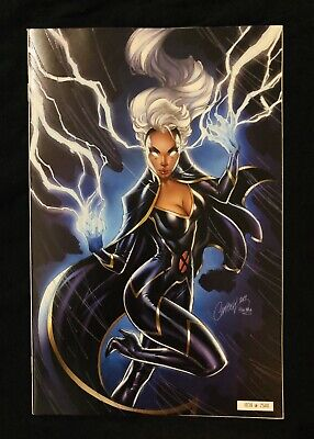 House Of X 5 NYCC J Scott Campbell Glow In The Dark Storm Variant (1039/2500)