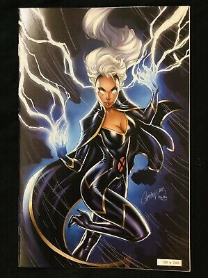 House Of X 5 NYCC J Scott Campbell Glow In The Dark Storm Variant (1041/2500)