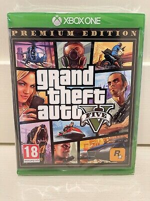 New Grand Theft Auto V 5 Premium Edition (Xbox One) GTA 5 Rockstar UK PAL Game
