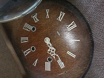 Smiths  Enfield 8 Day Westminster Chimes Floating Balance Mantel Clock