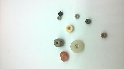 ~ Pre-Columbian ~  Tairona ~  Carnelian Agate Beads And Tairona Clay Beads
