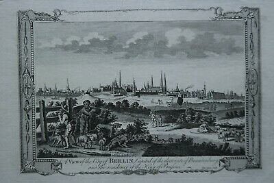 Thornton. View of Berlin. Gesamtansicht, ca. 1780