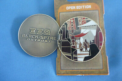 STAR WARS   Disney Pin  GALAXYS EDGE Black Spire Outpost Opens  #1 2019 NEW