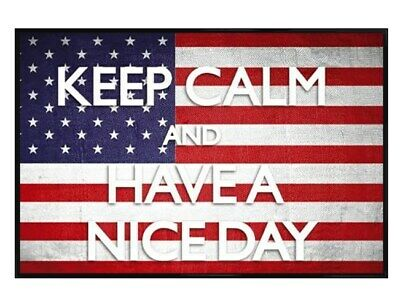 Maxi Poster 61 x 91,5 cm cadre noir brillant Keep Calm And Have a Nice Day!