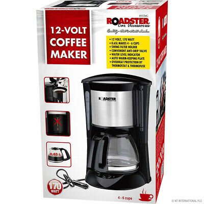 12v Coffee Maker for Cars Caravan and Trucks Camping Travel Coffee Maker New
