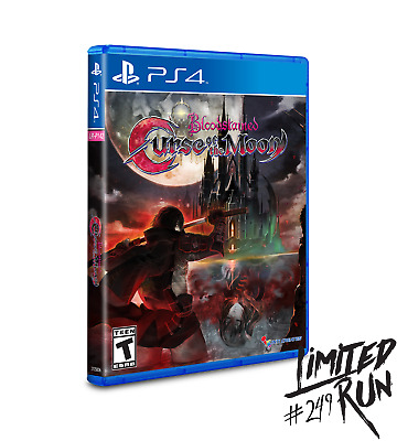 Limited Run Games #249: Bloodstained: Curse of the Moon PS4 NEW SEALED