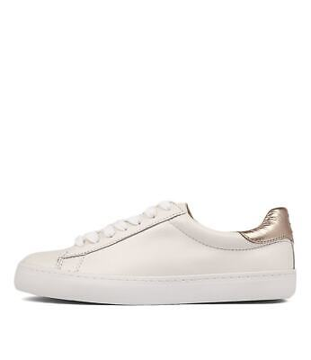 New Mollini Session White Cheetah Womens Shoes Casual Sneakers Casual