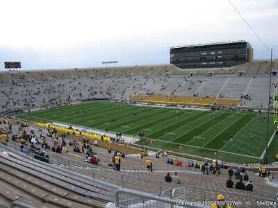 Notre Dame vs Virginia Tech 4 Tickets Together Great Seats Face Value