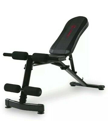 Marcy Eclipse Adjustable Workout Foldable Weight Bench - Incline, Decline, Abs