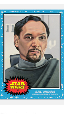 2019 Topps Star Wars Living Set Card #37 Bail Organa