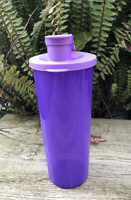 Tupperware New Tumblers Set Of 4 With Lids Flip-Top Spouts !!!!