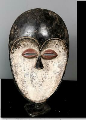 Old Tribal Kwele  Mask   --   Gabon BN 57