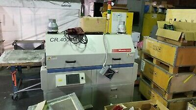 2010 Manncorp CR 4000 M Lead Free Reflow Solder Oven (#3435)