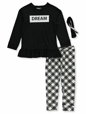 Kensie Girl Girls' Dream 2-Piece Leggings Set Outfit with Headband