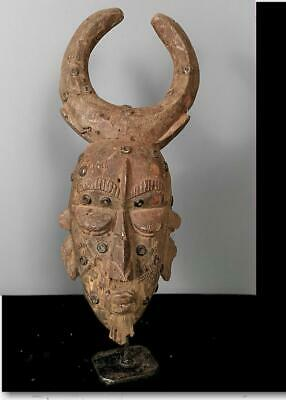 Old Tribal Baule Mask   --   Coted'Voire BN 57