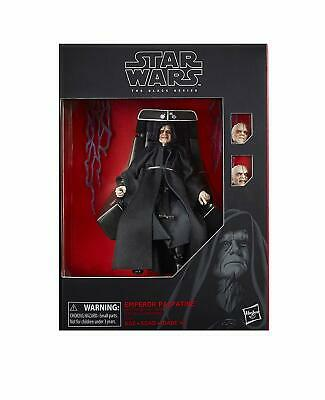 Star Wars The Black Series Emperor Palpatine Action Figure with Throne