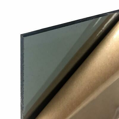 """Acrylic Plexiglass Tinted Plastic Sheet 1/8"""" Thick You Pick The Size Color"""