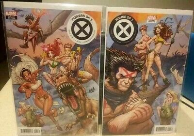 House Of X 5 & Powers Of X 5 Nakayama Connecting Variant set NM X-Men Hickman NM