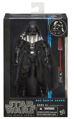 """New Star Wars Darth Vader #02 The Black Series 6""""Action Figure"""