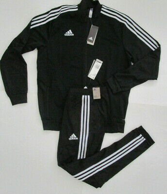 Adidas Men's Tiro 19 Track Suit, New Jacket Pant Combo Sweatpants Climalite Sz L
