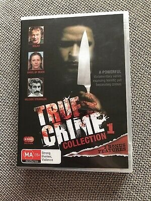 True Crime Collection 1 3 Discs, Milat, Angel Of Death, Hillside Strangler Dvd