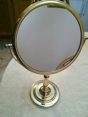 Brass Makeup Mirror / Pivots