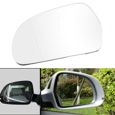 Rearview Left Driver Side Mirror Glass for Audi A4 A5 A6 A8  08-10 09-12 12-16