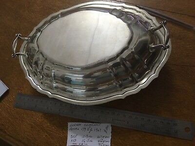 Gorham Chippendale Sterling Silver Vegetable Tureen And Cover