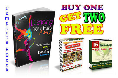 Dancing Your Fats Away with  FREE  2 Ebooks Master Resell Right+Instance Deliver