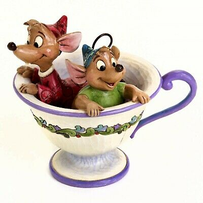 Disney Traditions Jaq and Gus from Cinderella in Tea Cup Jim Shore 4016557