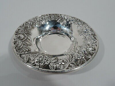 Kirk Bowl - 13F - Traditional Baltimore Repousse - American Sterling Silver