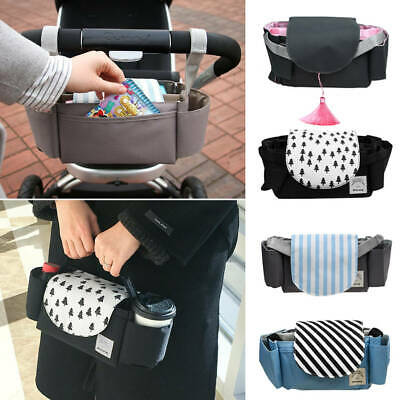 AU! Cup Pushchair Pram Buggy Storage Stroller Organiser Bottle Holder Mummy Bag
