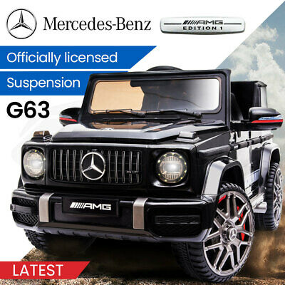 Kids Ride On Car LICENSED MERCEDES-BENZ AMG G63 Electric Battery Toy 4WD Wagon