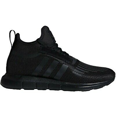 adidas Originals Mens Swift Run Barrier Lace Up Casual Trainers Sneakers - Black