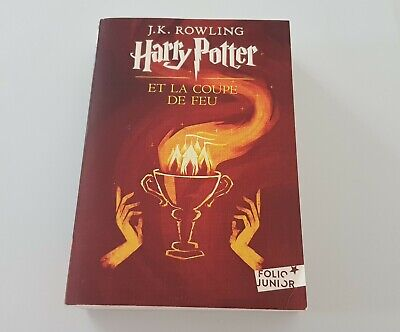 Livre De Poche Harry Potter Tome 4 Harry Potter Et La