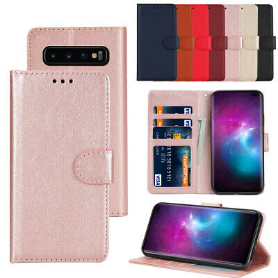 For Samsung Galaxy S10 A10 A20 A30 A40 A50 A70 PU Leather Wallet Flip Case Cover