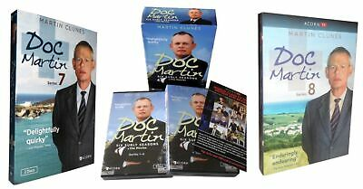 Doc Martin: Seasons 1-8 ( DVD, 2017, 21-Disc Box Set ) The Complete Series