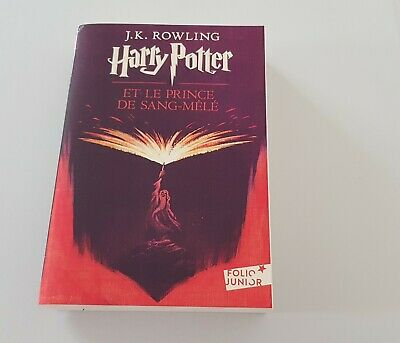 Livre Harry Potter Et Le Prince De Sang Mele Folio Junior