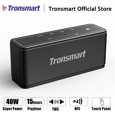 Tronsmart 40W Portable bluetooth Speaker Wireless Waterproof Boombox Amplifier