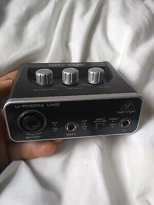 Behringer UM2 U-Phoria Audio Interface