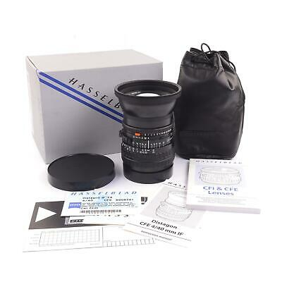 Carl Zeiss 40Mm F4 Distagon T* Cfe If For Hasselblad V System + Box 3020039 #950