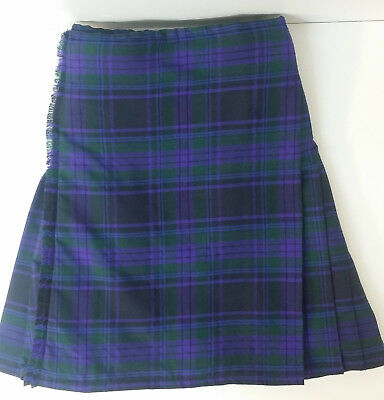 Spirit Of Scotland 8 Yard  wool KILT EX HIRE £99 A1 CONDITION