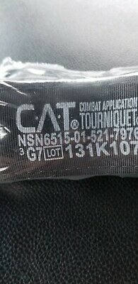 10pk. Military GEN 7 NAR Combat Application Tourniquet  CAT Red Tip  Grey Tab