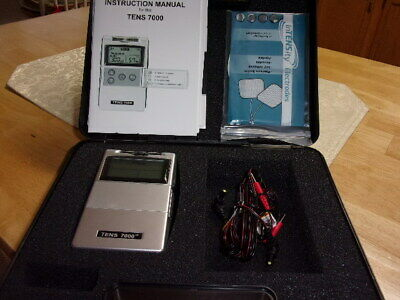 NEW TENS 7000 Digital Back Pain Relief System Unit OTC