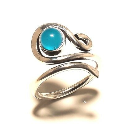Chalcedony 925 Silver Plated Free Shipping Ring Handmade Jewelry