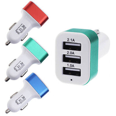 3| CHARGEUR voiture usb-double-2 ports-allume cigare-UNIVERSEL-prise usb voiture