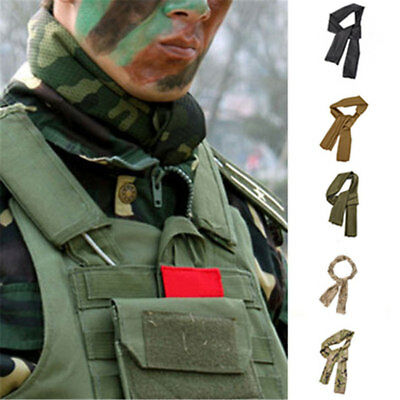 Cheche-Filet-Camouflage-Armee-Militaire-Airsoft-Chasse-Echarpe-Survie